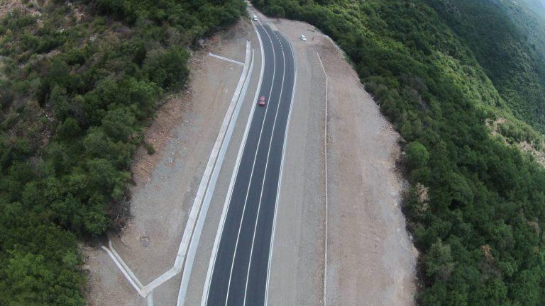 Landslide remediation works Markovići