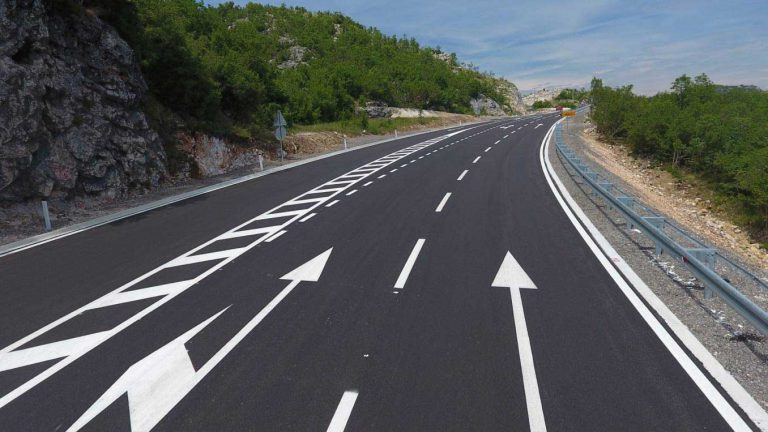 Reconstruction works on the main road m-2.3, Podgorica – Cetinje, section Ulići