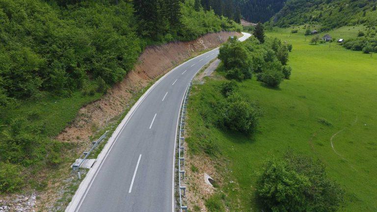 Works on the reconstruction of the road Slijepač most-Tomaševo-Pljevlja