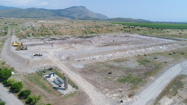"Works on the construction of sanitary tub number 3 at the landfill ""Livade"" u Podgorici"
