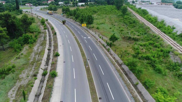 Reconstruction works on the main road M-2, bypass around Golubovac