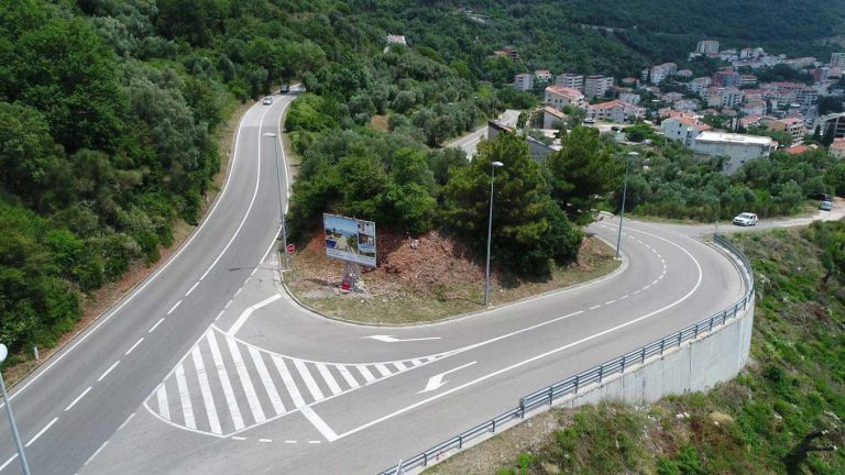 Works on the reconstruction of the main road M-2.4 Ulcinj – Sukobin