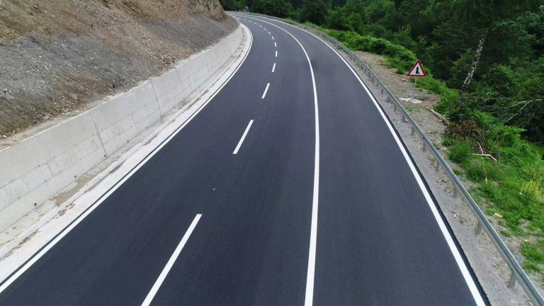 Street construction works, Cetinje