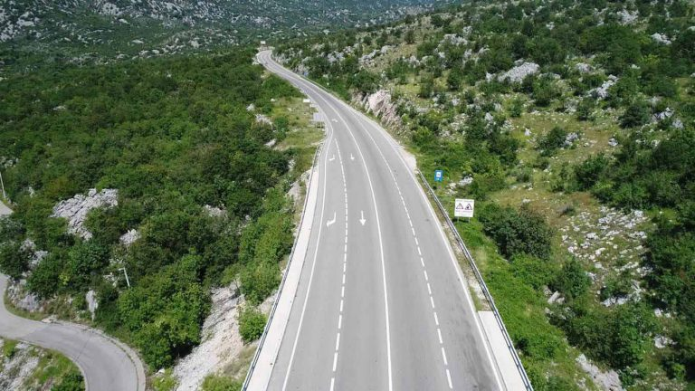 Works on the reconstruction of the main road Nikšić-Podgorica