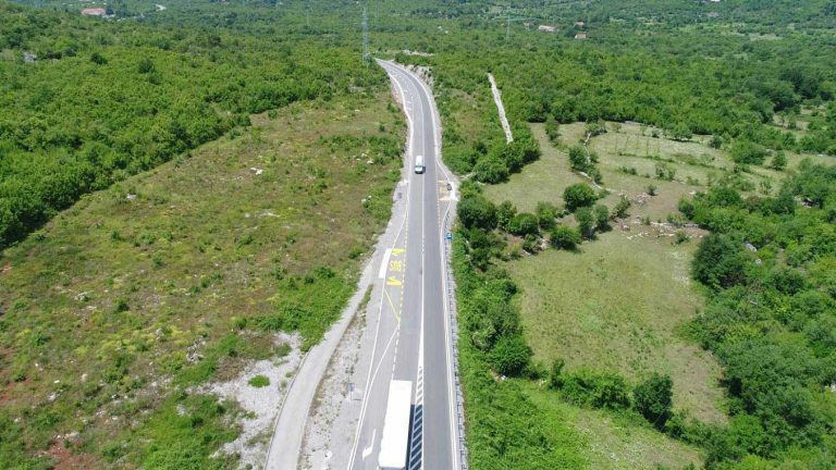 Works on the reconstruction of the main road M-2.3 Podgorica – Cetinje