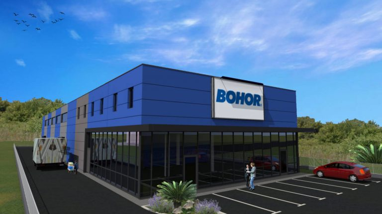 "Works on the warehouse-business facility ""Bohor"""