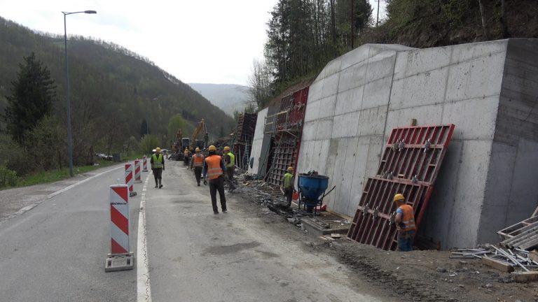 Works on the reconstruction of the main road Bijelo Polje – Ribarevine