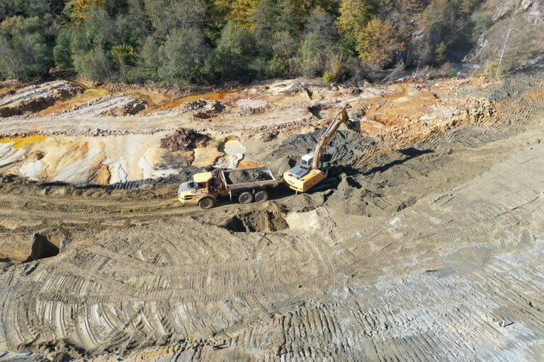 "Works on the rehabilitation of the ecological landfill ""Gradac"""