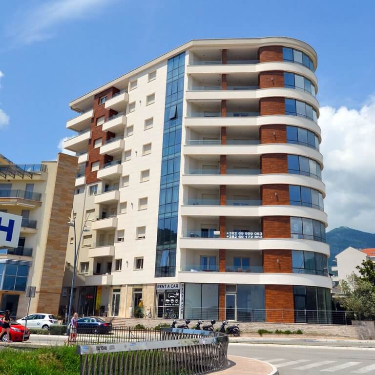 Residential and business building, Budva